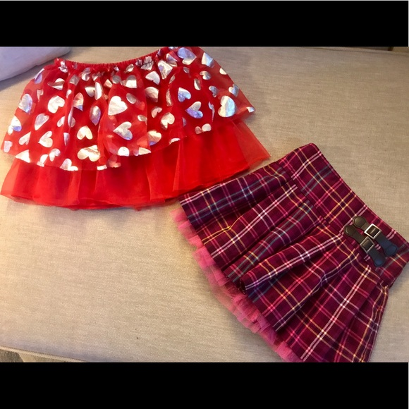 Other - Two toddler girls skirts like NEW